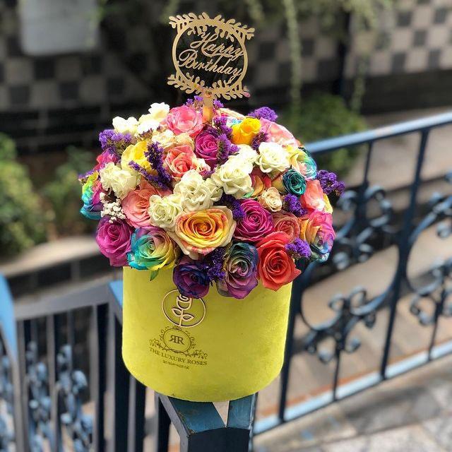 خرید و قیمت باکس گل ترکیبی