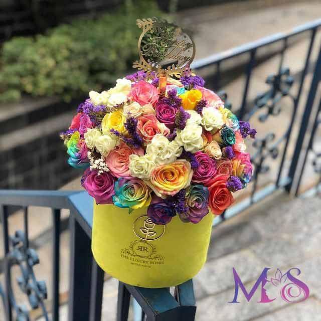 خرید باکس ترکیبی گل رز